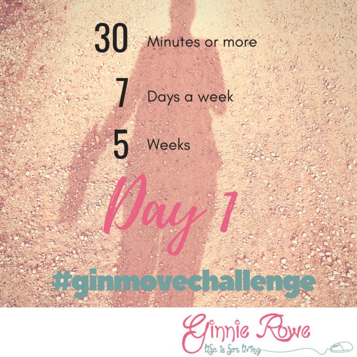 Day 1 #ginmovechallenge